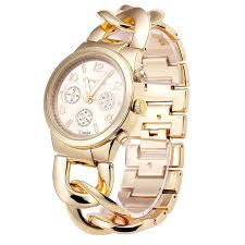 chain link bracelet watches images Bsl857 big chain wrist watch for ladies gold and silver vogue jpg