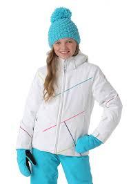 spyder girls tresh jacket