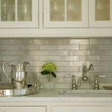 Kitchen Tile Backsplash Design Ideas Iridescent Kitchen Backsplash Design Ideas