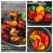 How To Make Roasted Vegetables by How To Roast Sweet Bell Peppers Recipe Grilled Summer Vegetable
