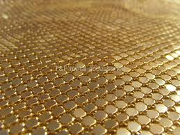 metallic mesh china manufacturer bead chain curtain