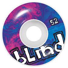 Blind Micro Skateboard Blind Trippy Og Skateboard Wheels Magenta Cyan 52mm Blind