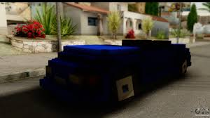 minecraft car design minecraft car for gta san andreas