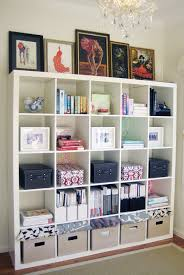 Home Office Bookshelves by Love The Versatility And Look Of Cube Shelving In An Office Home