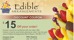 edible arrangements coupon code october 2015