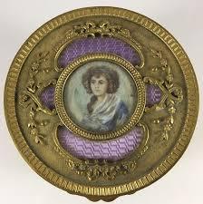 Gilt Bonze Enameled Portrait 1390 Best Vintage Powder Boxes Images On Bronze