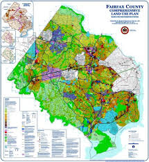 fairfax county map fairfax county comprehensive land use plan map fairfax county