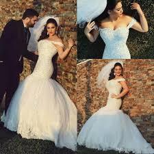 2018 said mhamad arabic mermaid plus size wedding dresses 2017 off