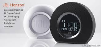 sad light alarm clock jbl horizon alarm clock and ambient wake up light review