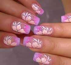 delicate nail art video tutorial sweet flower design youtube