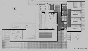 mies van der rohe courtyard house plan house and home design