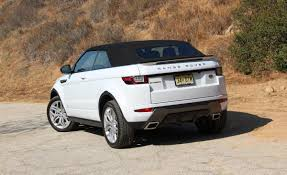 range rover evoque rear 2017 land rover range rover evoque convertible rear top up