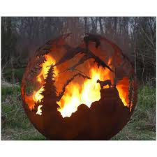 Sphere Fire Pit by High Mountain