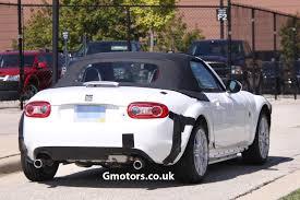 mazda convertible 2015 2015 mazda mx 5 chassis testing mule 2
