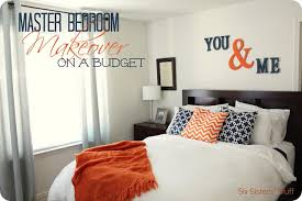 master bedroom makeover on a budget six sisters u0027 stuff