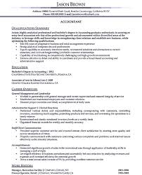 Sample Resumes For Accounting Writing Accountant Resume Sample Is Not That Complicated As How