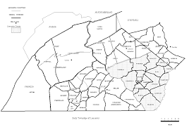 Map Of Lancaster County Pa Lytle Family Locations
