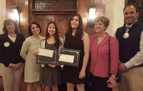 summit new providence rotary club awards scholarships to two new