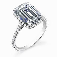 neil emerald cut engagement rings astounding emerald cut halo engagement rings uk to put a ring