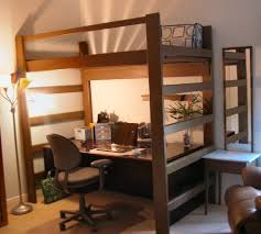 lofted queen bed ideas modern loft beds