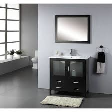 20 Inch Bathroom Vanities Bathroom 35 Inch Vanity Kahtany Cade Contempo With Carerra White