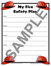 home fire safety plan october resources from teacher s clubhouse