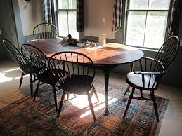 primitive dining room furniture oval table seat eight windsor chairmakers