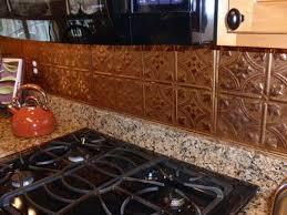tin tile back splash copper backsplashes for kitchens kitchen backsplash tiles house things pinterest copper kitchen
