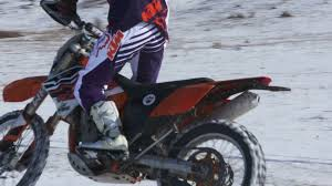ktm motocross gear crimea russia circa january 2017 motorbike rider in fox racing