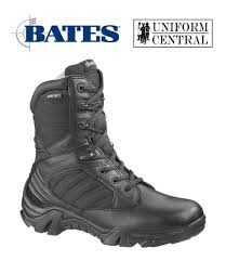 s zip boots bates mens gx 8 tex s zip insulated waterproof boot black 12
