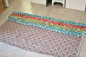 How To Rag Rug How To Make A Rug With Fabric Roselawnlutheran