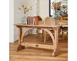 console table used as dining table barrel vault console table magnolia home