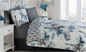 Bed In A Bag Set Paris Themed Cherie Bed In A Bag Set 8 Piece For 49 99 King