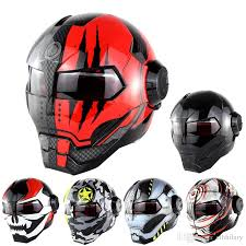 motocross helmet soman black ironman iron man helmet motorcycle helmet motorbike