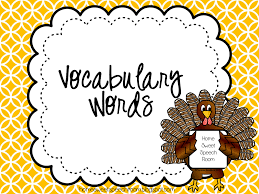 live speech speech and language activities for thanksgiving