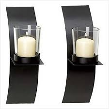Candle Holder Wall Sconces Gifts Decor Modern Candle Holder Wall Sconce