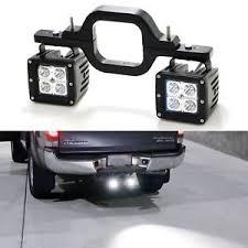 led work lights for trucks tow trailer hitch mounting light brackets 2x 16w led work lights