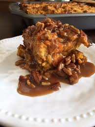sweet potato praline bread pudding dash of jazz