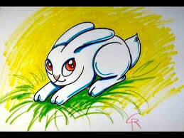 learn how to draw a cute bunny rabbit for easter icanhazdraw