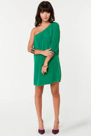 one shoulder dress green best gowns and dresses ideas u0026 reviews
