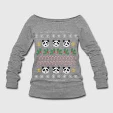 panda sweater panda sweater sweatshirt spreadshirt