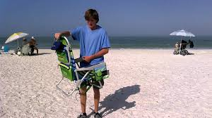 Costco Beach Chairs Backpack How To Close A Tommy Bahama Beach Chair Youtube