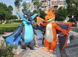 Charizard Pokemon Halloween Costume Pokemon Mega Charizard Mascot Costume Big Body Size