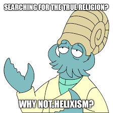 Helix Fossil Meme - like if you love the lord ignore if you love the false prophet