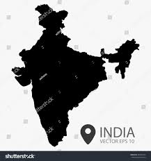 World Map Poster India by India Map Vector India Vector Isolated Stock Vector 488397244