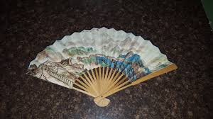 Chinese Wall Fan by Chinese Collectables Ethnographic Collectables Collectables