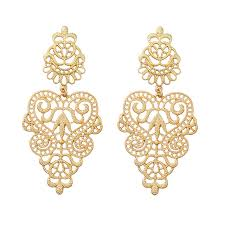 gold earrings jhumka design 2017 wholesale hollow out for jhumka designs gold earrings