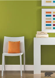 pairing this green lazy lizard paint color with ultra pure white