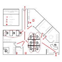 evacuation floor plan template evacuation plan templates