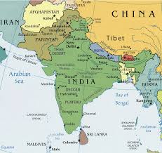 south asia countries map south asia